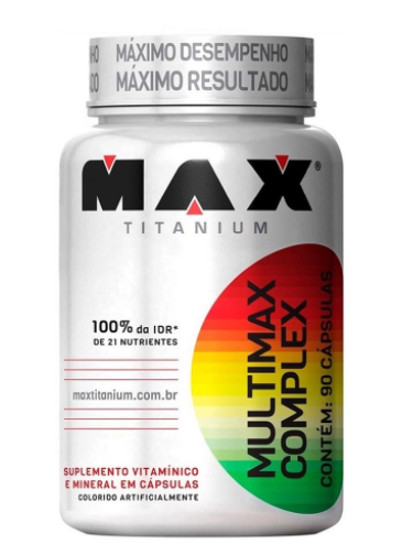 MULTIMAX POLIVITAMINICO 90 CPS