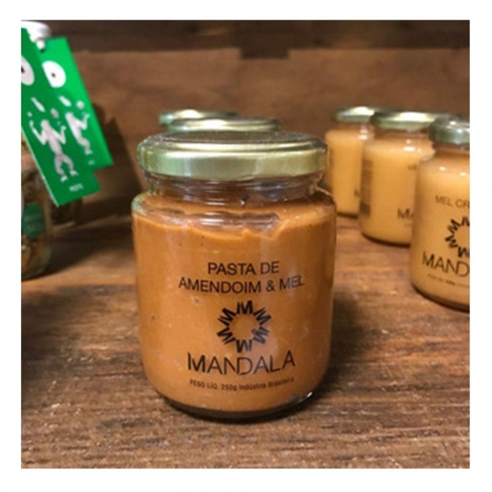 Pasta De Amendoim + Mel Cremoso + Mel Sachê 100gr Mandala