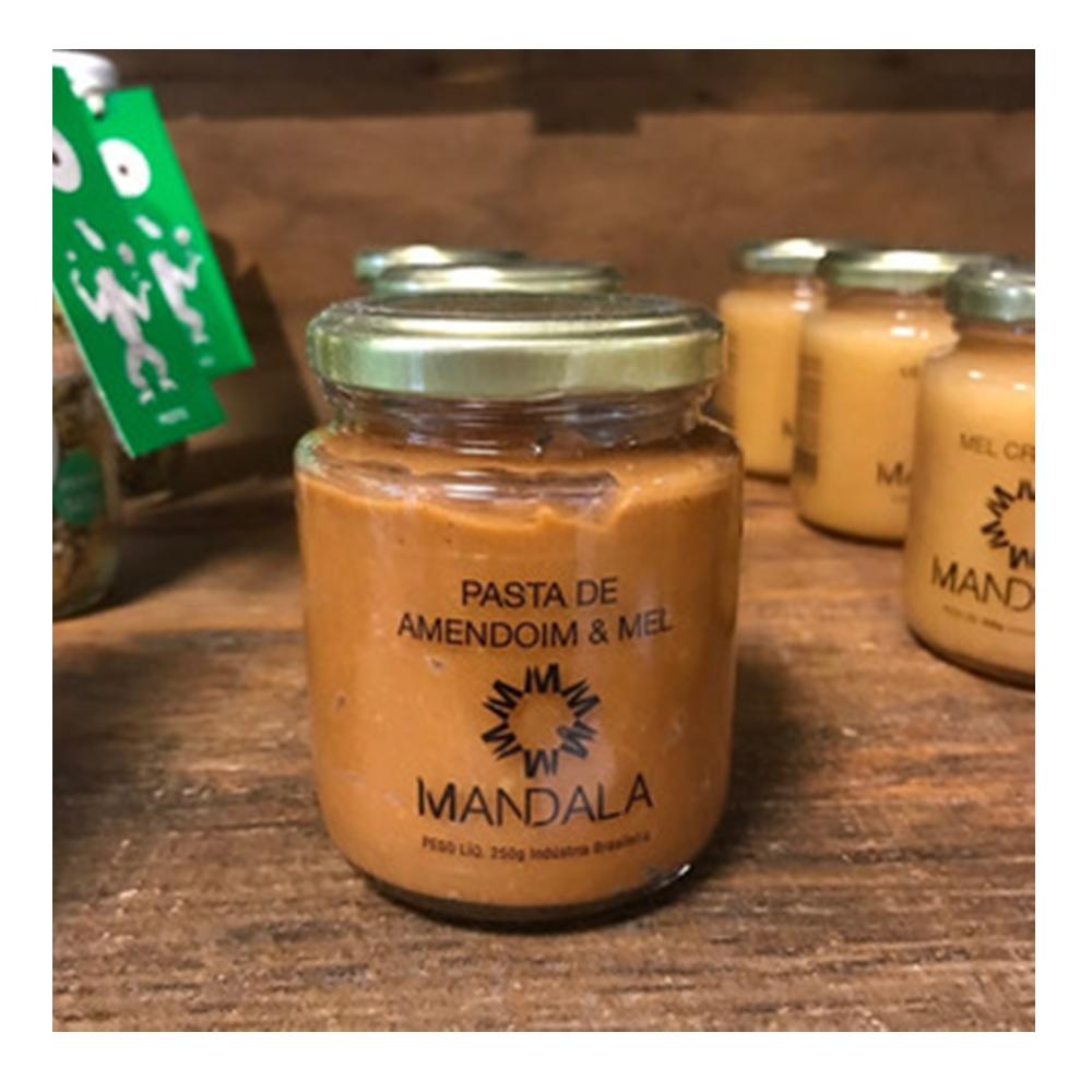 Pasta de amendoim com Mel Mandala 250g
