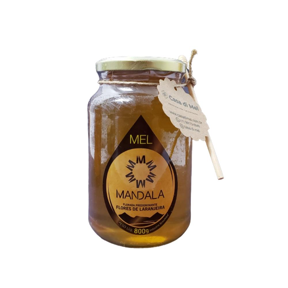 Mel Mandala 100% Natural Flores Laranjeiras 800gr