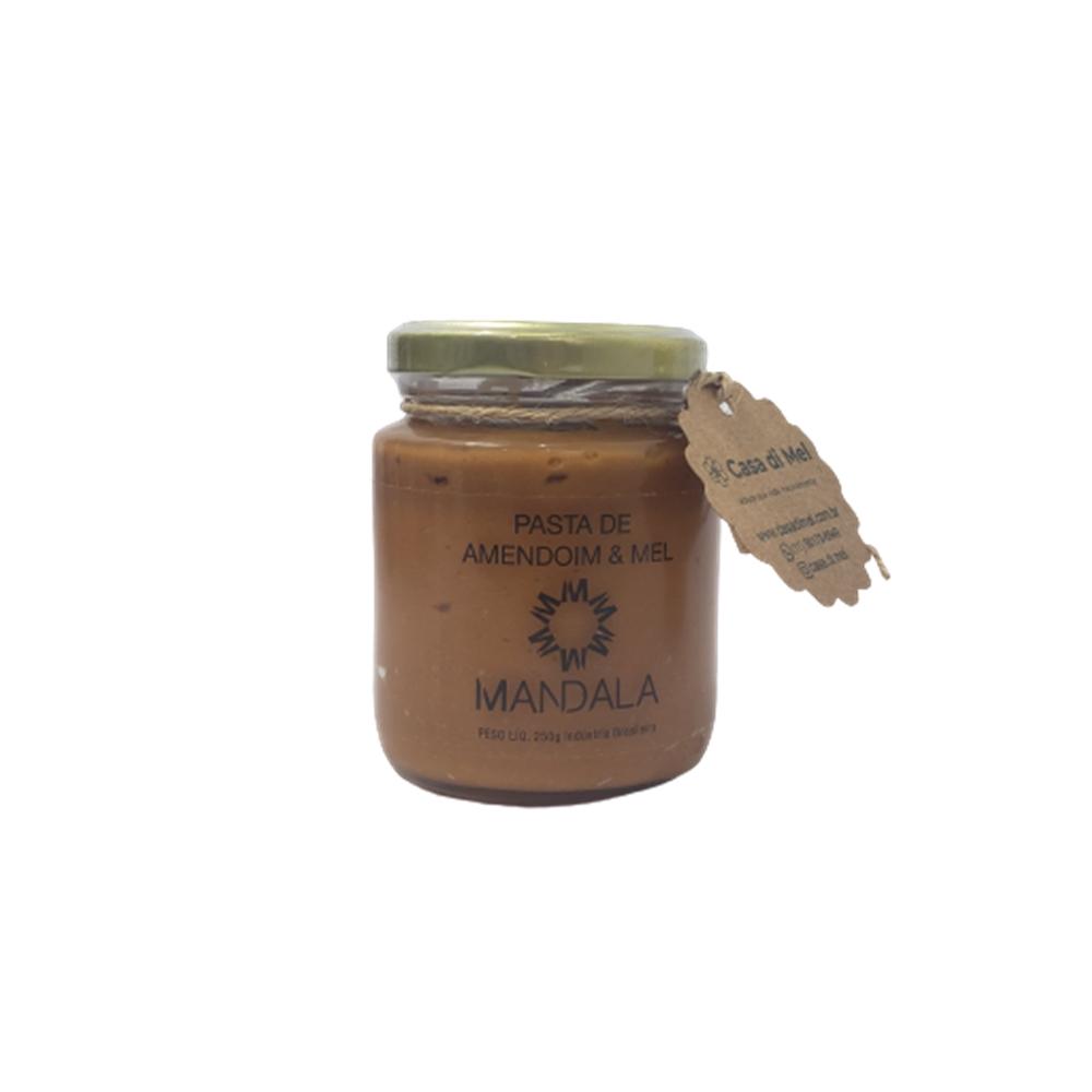 Pasta De Amendoim + 2 unid Mel Sachê 100gr Mandala
